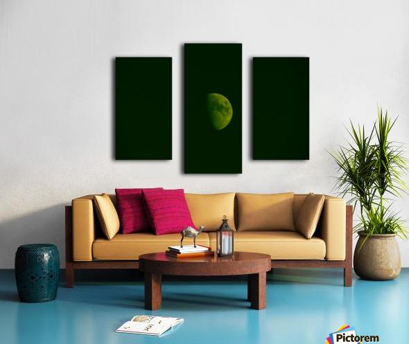 E (4) Impression sur toile