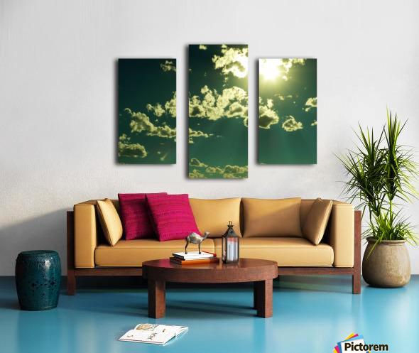E (3) Impression sur toile