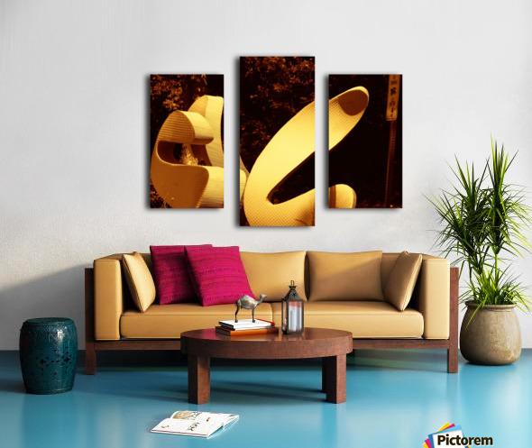 G (11) Impression sur toile