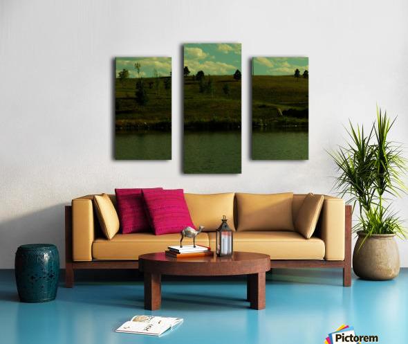 H (5) Canvas print