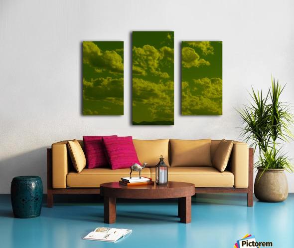 H (8) Impression sur toile