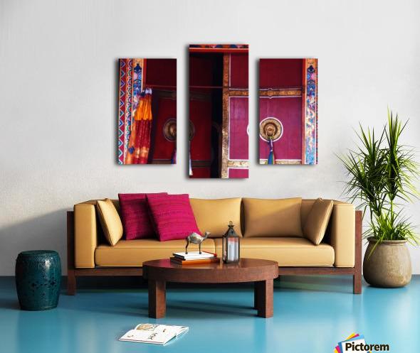Beautiful door Canvas print