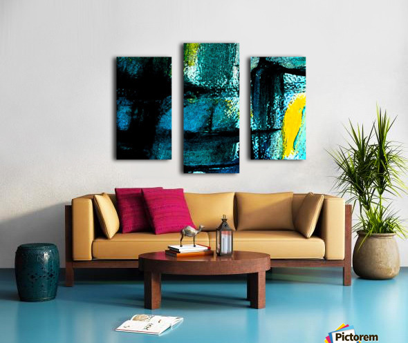 Abstract emotion  Canvas print