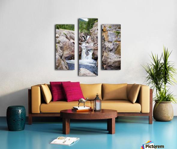 Poudre River Colorado Impression sur toile