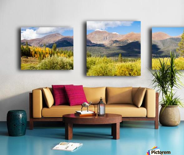 North Park Colorado  Impression sur toile