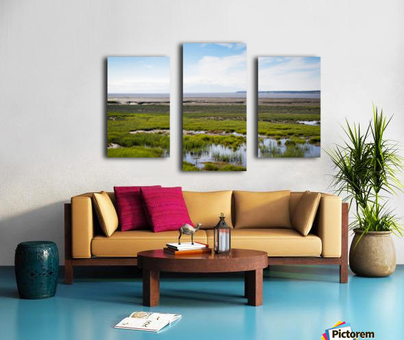 Alaska Scenery - Bay View Impression sur toile