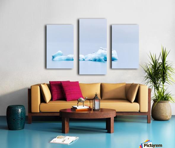 Iceberg Images - Alaska Canvas print