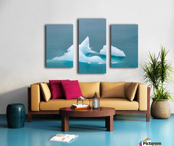 Iceberg Images - Alaska  Impression sur toile