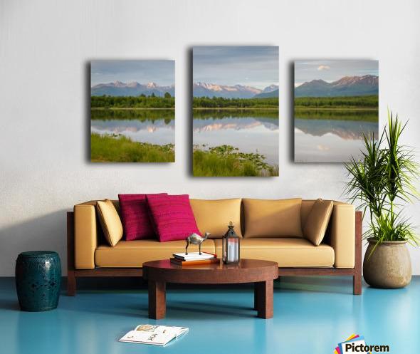 Photos Alaska Mountain Impression sur toile
