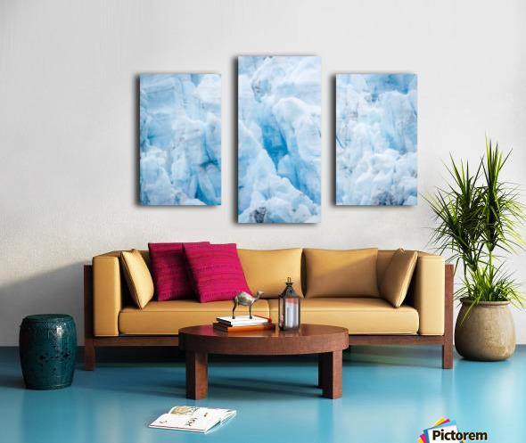 Alaska Gifts - Glacier Photographs Canvas print