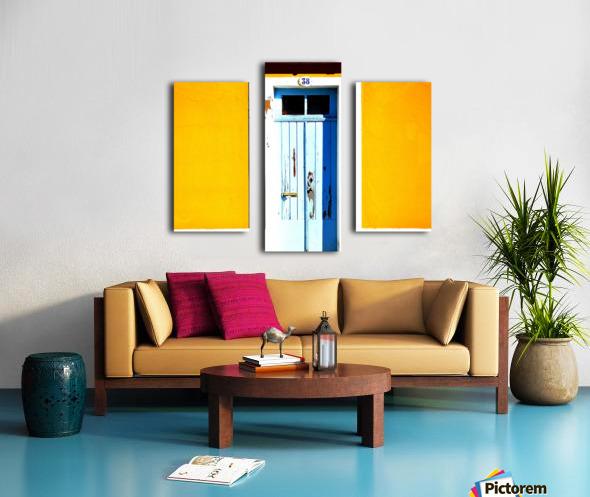 Yellow 04_OSG Canvas print