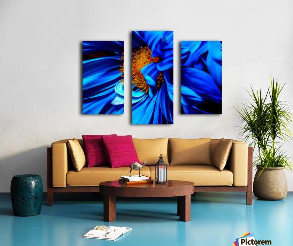 Beautiful Blue Flower_OSG Canvas print