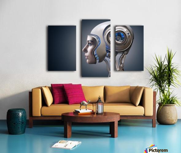 Next Generation Cyborg Canvas print