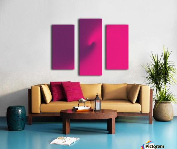 Abstract Purple & Blue Art Canvas print