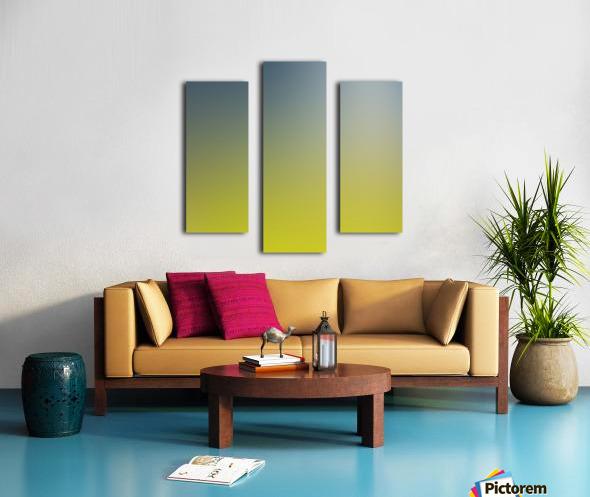 Green Gradient Background Canvas print