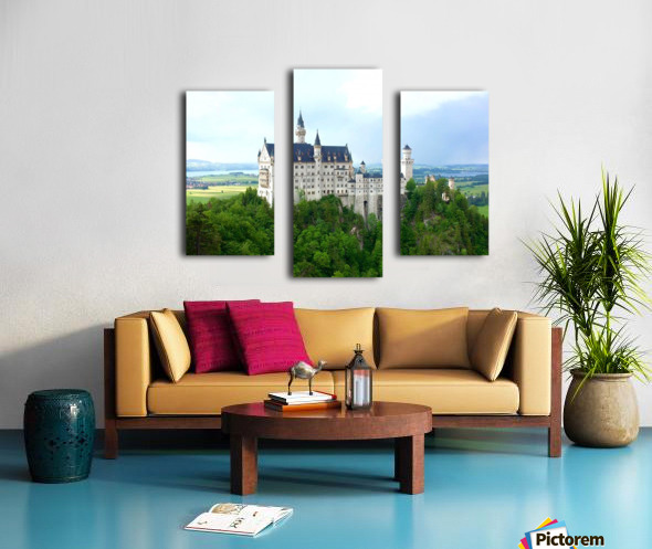 Nueschwanstein Castle Canvas print