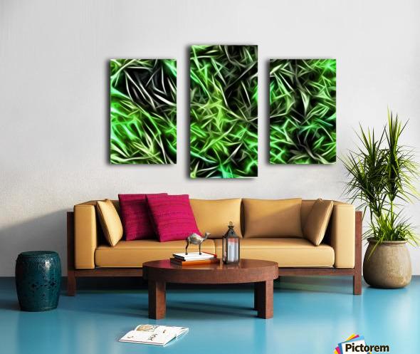 Interdigitate Canvas print