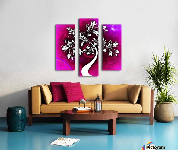 FLOWER TREE 04_OSG Canvas print