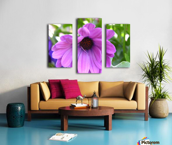 Pink Flower Photography Canvas print