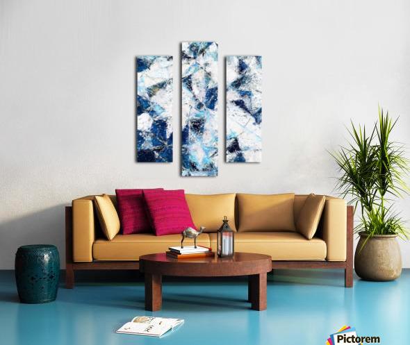 Exploding Panels Canvas print