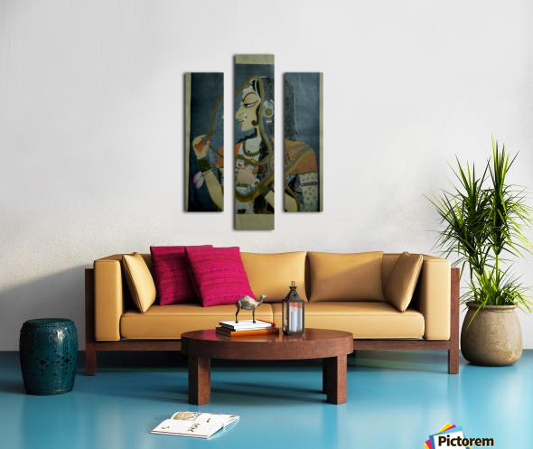 Untitled 9_copy Canvas print