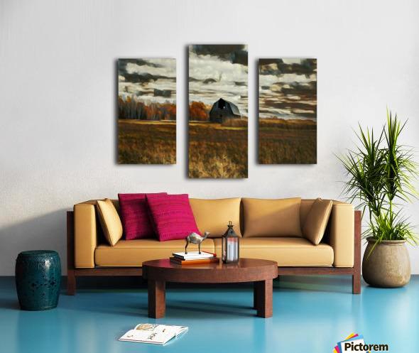 barn um Canvas print