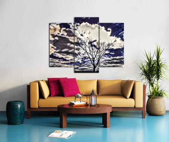 regal tree Canvas print