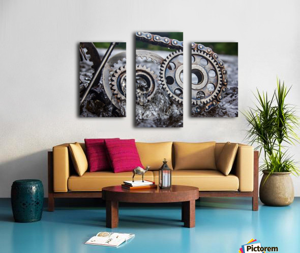 Flooded emotions Canvas print