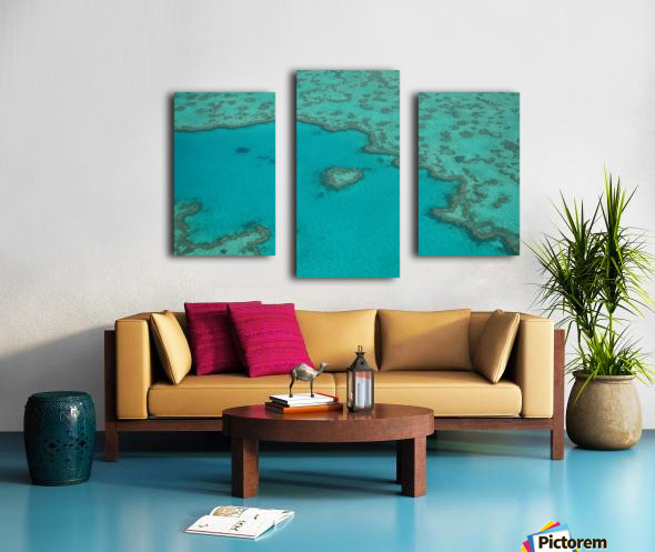 Love Reef Canvas print