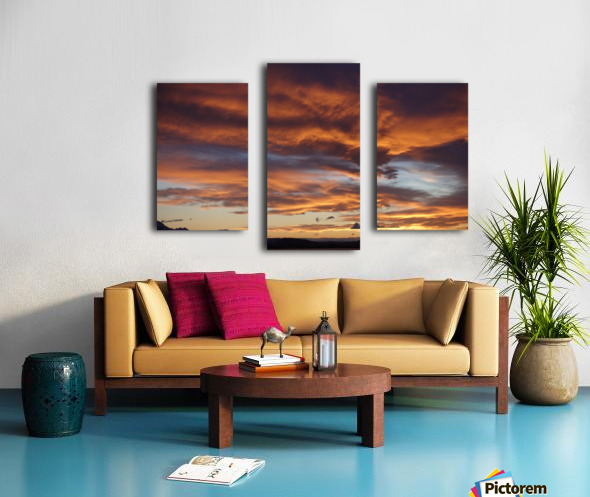 Icelandic Sunrise Canvas print