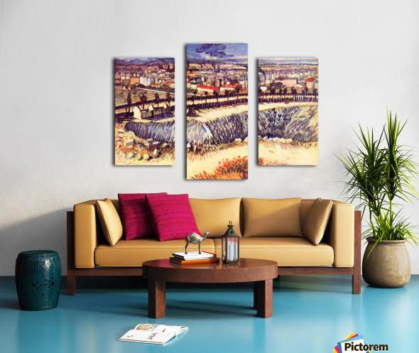 Factory by Van Gogh Canvas print