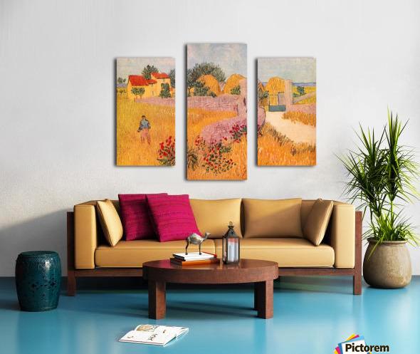 Farmhouse in Provence by Van Gogh Canvas print