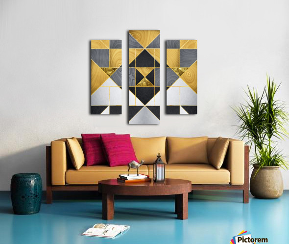 Geometric XXIV Canvas print