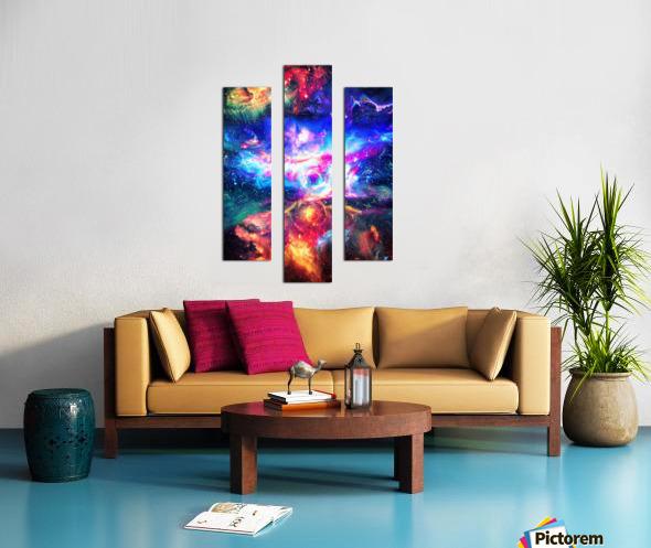 Colorful Galaxy  Canvas print