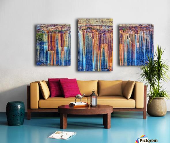 Painted Coves - APC-334 Canvas print