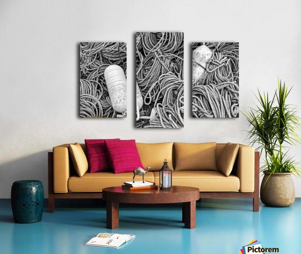 Rope & Buoys - APC-297 Canvas print
