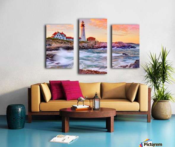 Crashing Waves - APC-113 Canvas print