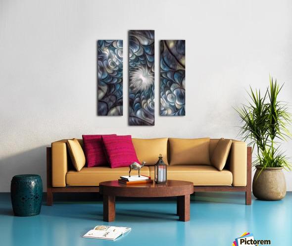 Fractal Design 2 Canvas print
