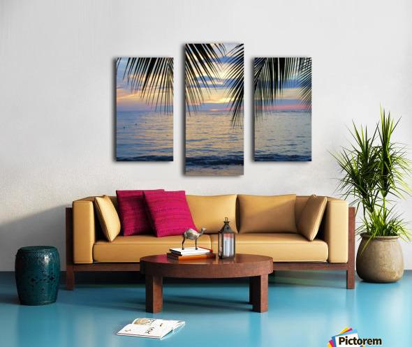 Tropical Sunset 4 Canvas print