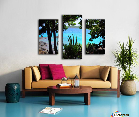 Tropical Waters 1 Canvas print