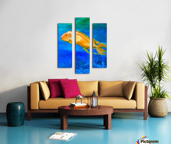 Undersea Journey Canvas print