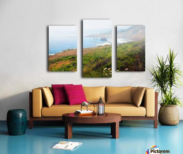 Coastal Views Fog Canvas print