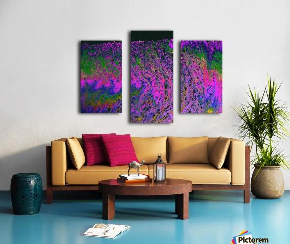 Bubbles Reimagined 55 Canvas print