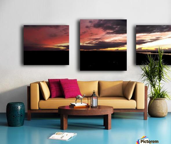 best sun Canvas print