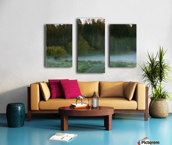 Weyerhaeuser morning Canvas print