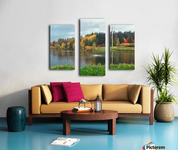 Weyerhaeuser HQ last View Canvas print