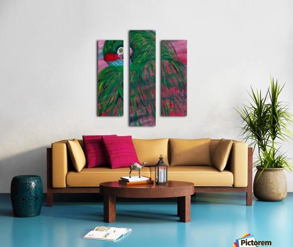 Okie Canvas print
