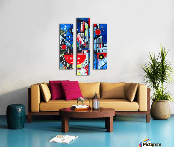 Absolute Abstracts 24 Canvas print