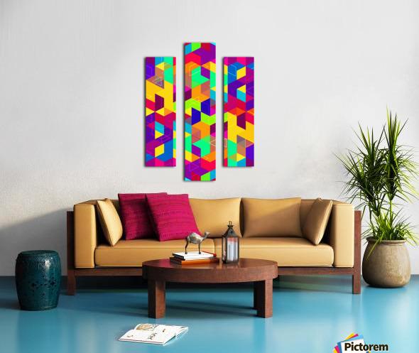 Pattern LXXX Canvas print