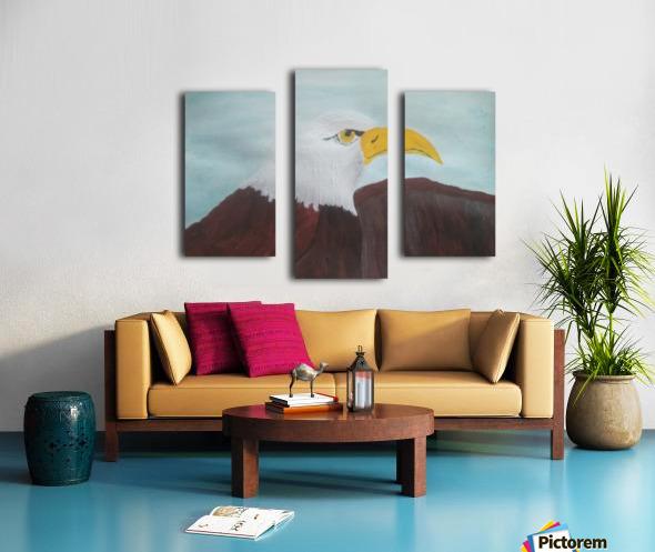 Eagle Canvas print